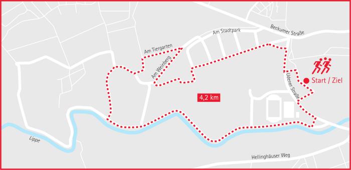 Plan Städte- und Gemeindelauf