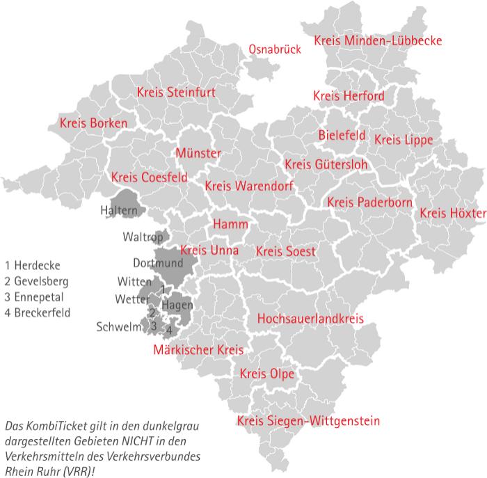 VRL Karte